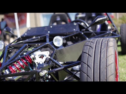 Hayabusa Powered Street Legal Custom Kit Car - YouTube