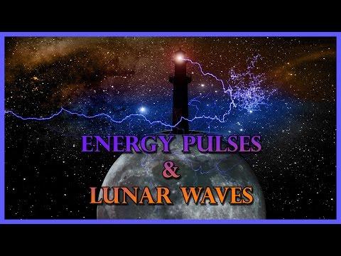 Energy Pulses & Lunar Waves Captured on Film