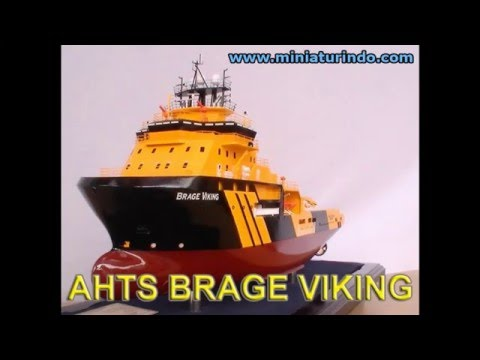 Scale Model Ships AHTS BRAGE VIKING by Miniaturindo