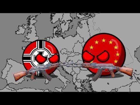 Будущие Европы после 3 мировой войни 3 серия (контриболс)