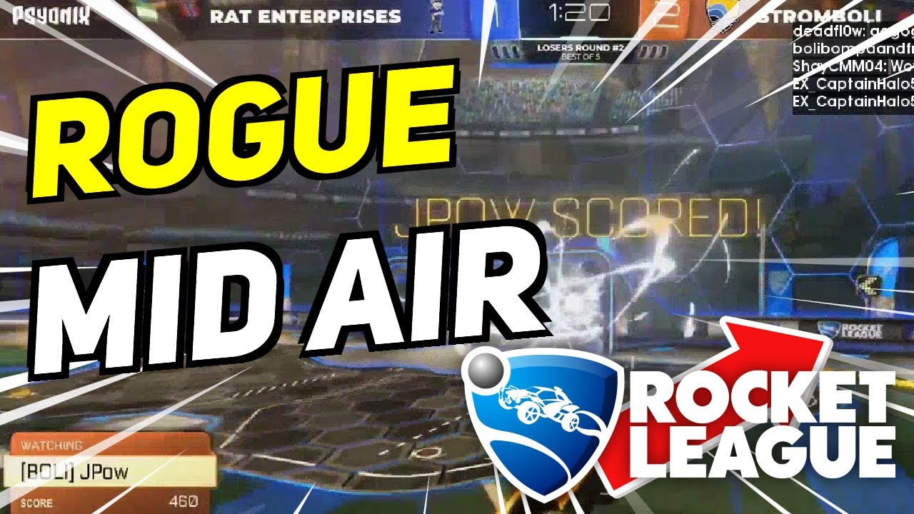 Daily Rocket League Highlights: ROGUE MID AIR PASS PLAY