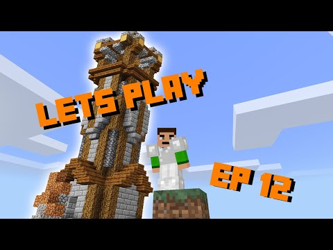 Minecraft PE Lets Play EP.12 OBSERVATION TOWER | Minecraft PE | (MCPE)