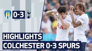 Heung-Min Son scores his first goal of pre-season! HIGHLIGHTS | COLCHESTER 0-3 SPURS