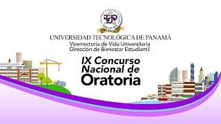 IX Concurso Nacional de Oratoria UTP 2021