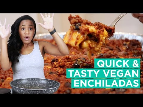 Tasty Vegan Enchiladas – Easy Vegan Recipes