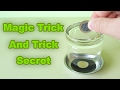 How To do Magic Tricks. Cup and Coin Awesome Magic Trick magic tricks with coins