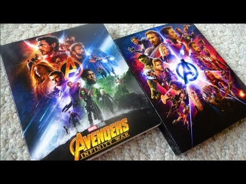 avengers infinity war target exclusive 4k uhd blu ray. Black Bedroom Furniture Sets. Home Design Ideas