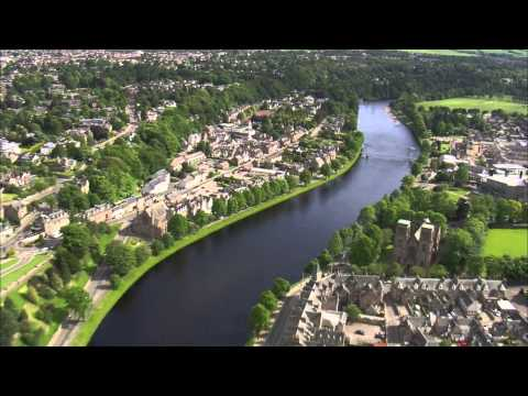 Salmon Fishing On The River Ness