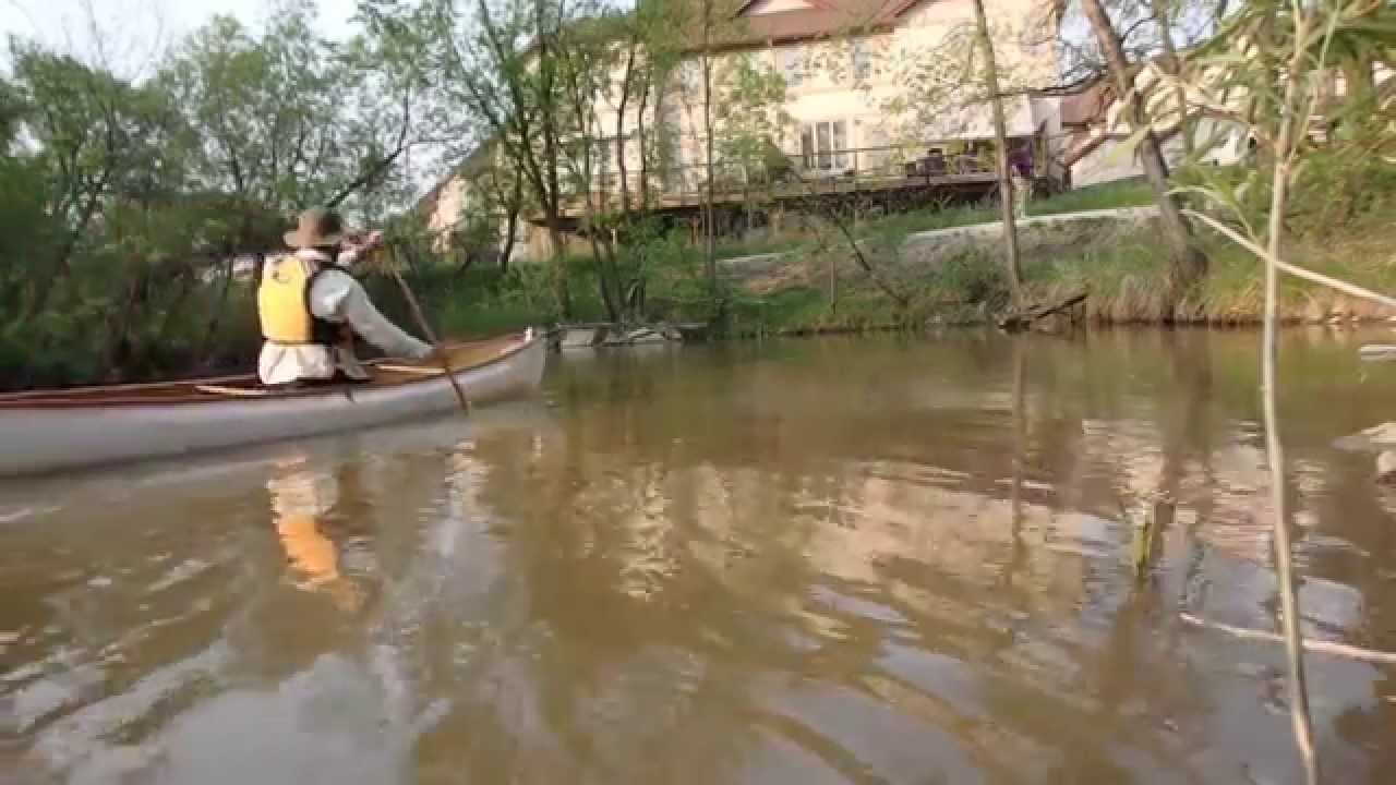 Seine river winnipeg may 26 2015 youtube for Lake winnipeg fishing report