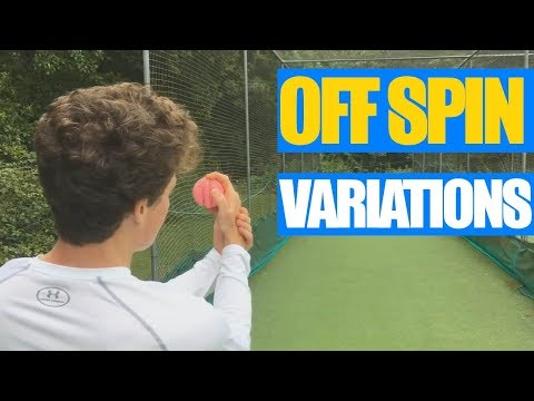 Off Spin Variations - How to Bowl Off Spin - The Cricket Coach