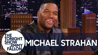 Michael Strahan Really Choked Eli Manning After Their Super Bowl Win