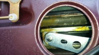How to remove and replace door panel and door check strap on 1986 Mercedes 560SEC