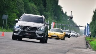 Fastest Mercedes ML63 AMG on Unlim 500+ by Gorilla Racing