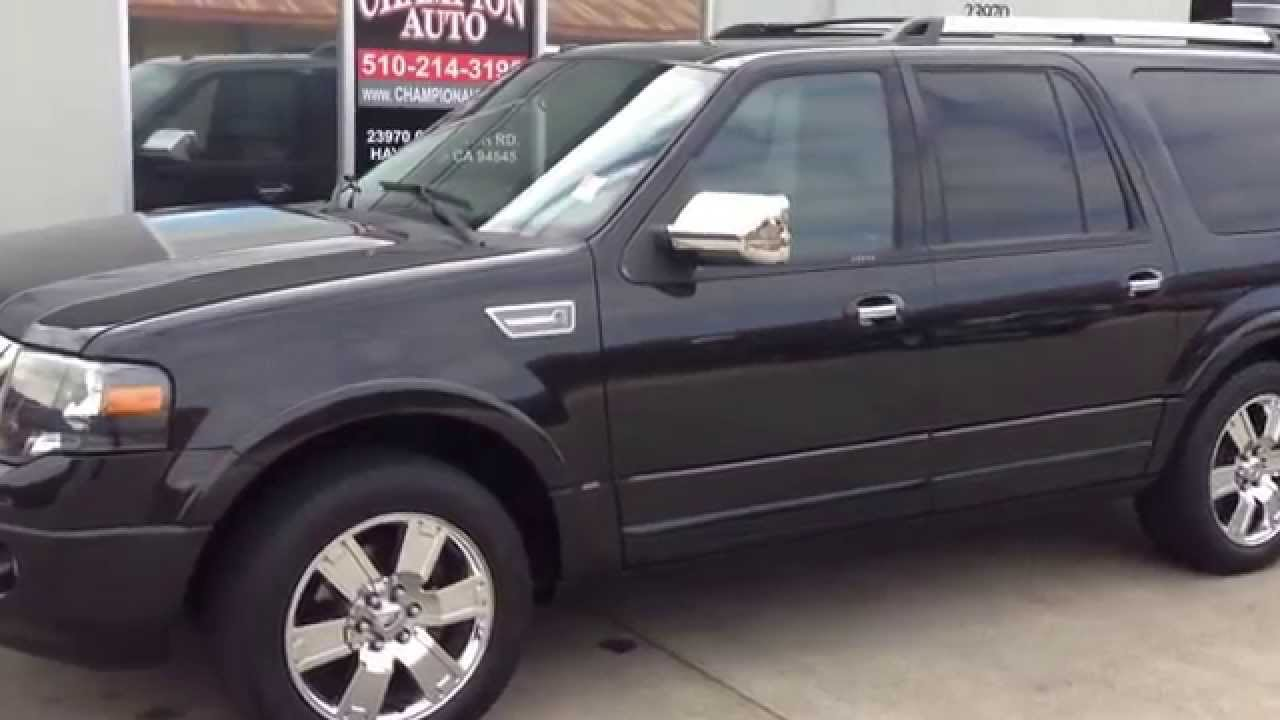 SOLD SOLD 2010 Ford Expedition EL Limited w/89k, Clean ...