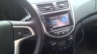 Hyundai Solaris адаптер рулевого управления ACV SWI X1 смотреть