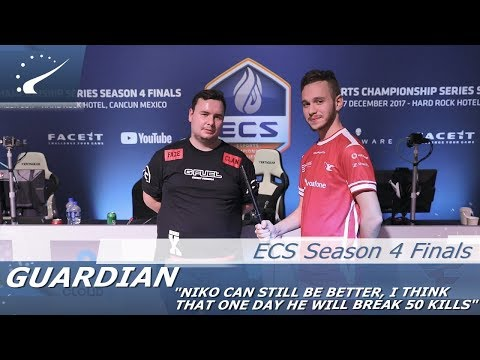 GuardiaN: NiKo can still be better, I think that one day he will break 50 frags  ECS Season 4