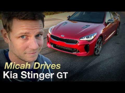 Micah Drives a Kia Stinger GT