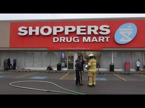 4K Shoppers Drug Mart Suspicious Substance Coquitlam, B.C