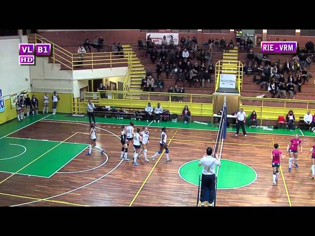 Fortitudo Rieti vs Volleyfriends Roma - 1° Set