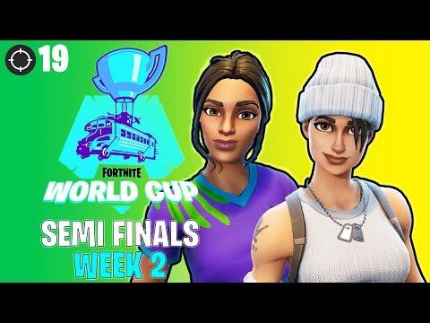 W7M DKOUTZZZ & W7M BLAACKOUTZZZ Fortnite World Cup Week 2 Highlights (BRAZIL Semi Finals)