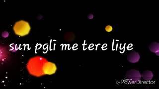 Romantic msg for love ..I love you pagli. .