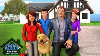 Virtual Family Pet Dog Home Adventure Game  By New Age Gamers  / Android Gameplay Hd