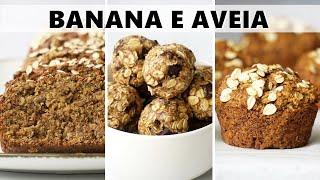 3 Receitas Fáceis Econômica e saudáveis – Para Café da Manha Lanchinhos e Sobremesa