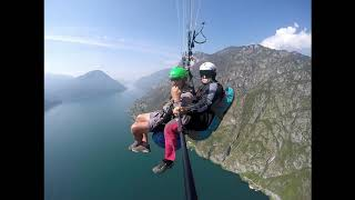 PARAGLIDING - LAKE LUGANO - PORLEZZA - ITALY