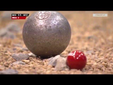 Petanque Finale coupe de France 2016 Metz vs Nice