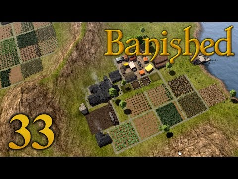 Banished Modsylvania - Part 33 - HELLO FOOD SHORTAGES MY OLD FRIEND