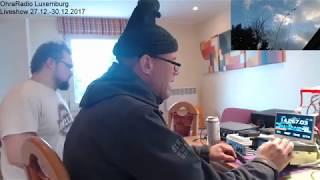 OhraRadio 2017 osa 12: 29/12/17 03:26 Luxemburg - radioyhteyksiä 20m/40m/80m
