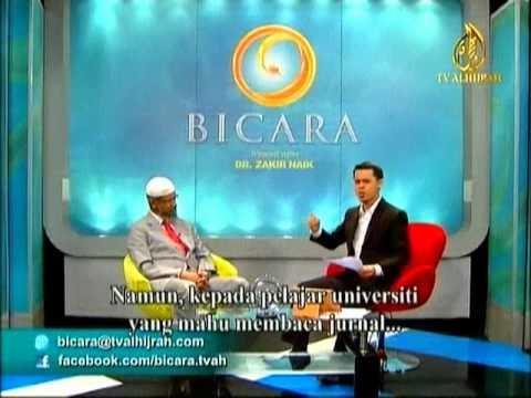Bicara (TV Alhijrah) : DR.Zakir Naik - ISLAM & THE POST MODERN CHALLANGES