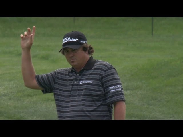 Jason Dufner holes out for eagle at the Memorial in Round 1