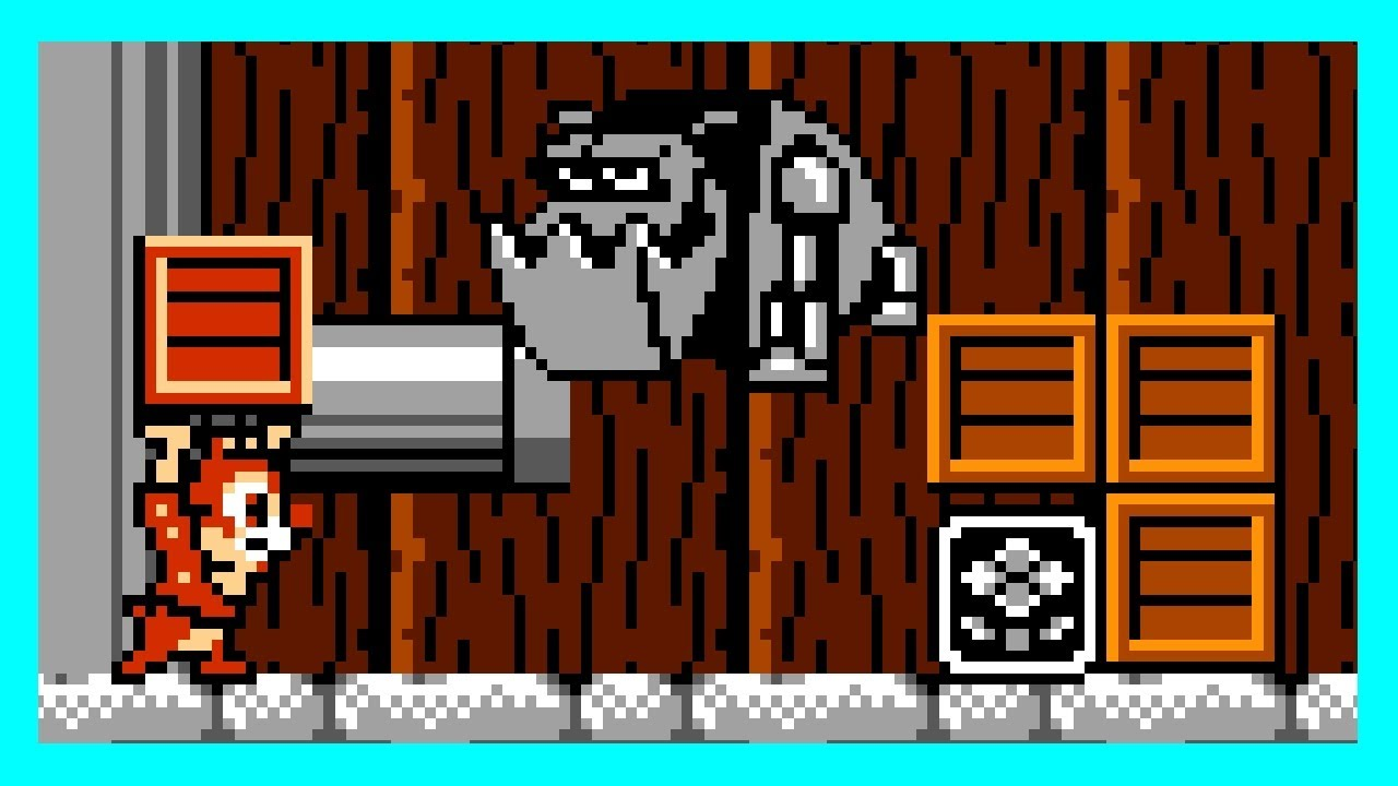 Chip 'n Dale – Rescue Rangers (NES)