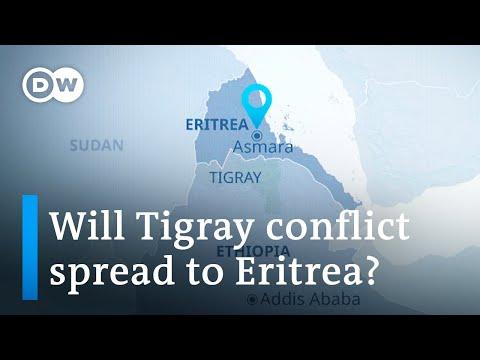 Ethiopia conflict: Tigray missiles target Eritrean capital Asmara | DW News