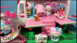 New Hello Kitty Rescue Set Mini Lalaloopsy Rosie Bumps N Bruises Toy Review