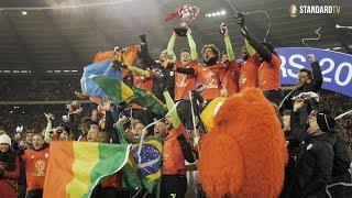 Le tour d'honneur des Rouches (Coupe de Belgique 2018)