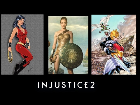 Injustice 2 Skins: Wonder Woman