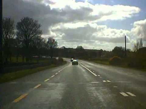 Road trip from Roscommon Town to Athlone Co. Westmeath