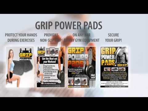 Gym Gloves, GRIP POWER PADS - ALTERNATIVE TO GYM GLOVES, Weight Lifting Straps, Каникулы