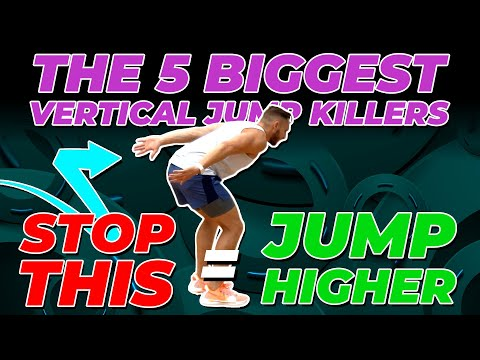 5 Biggest Vertical Jump KILLERS 😈 STOP DOING THIS = JUMP HIGHER!