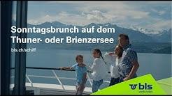 Sonntagsbrunch auf dem Thuner- oder Brienzersee