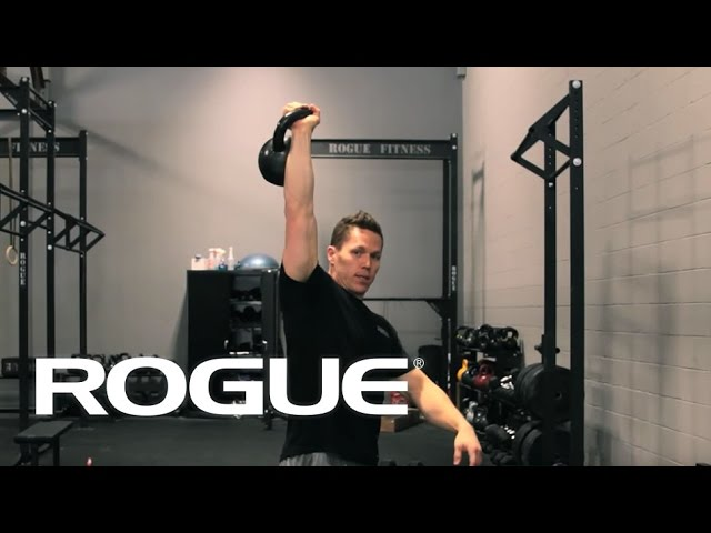 One Arm Kettlebell Snatch Tutorial Created by Rogue Fitness