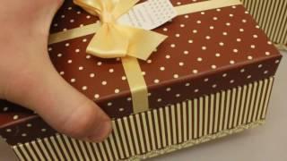 видео Подарочные коробки новогодние купить оптом!