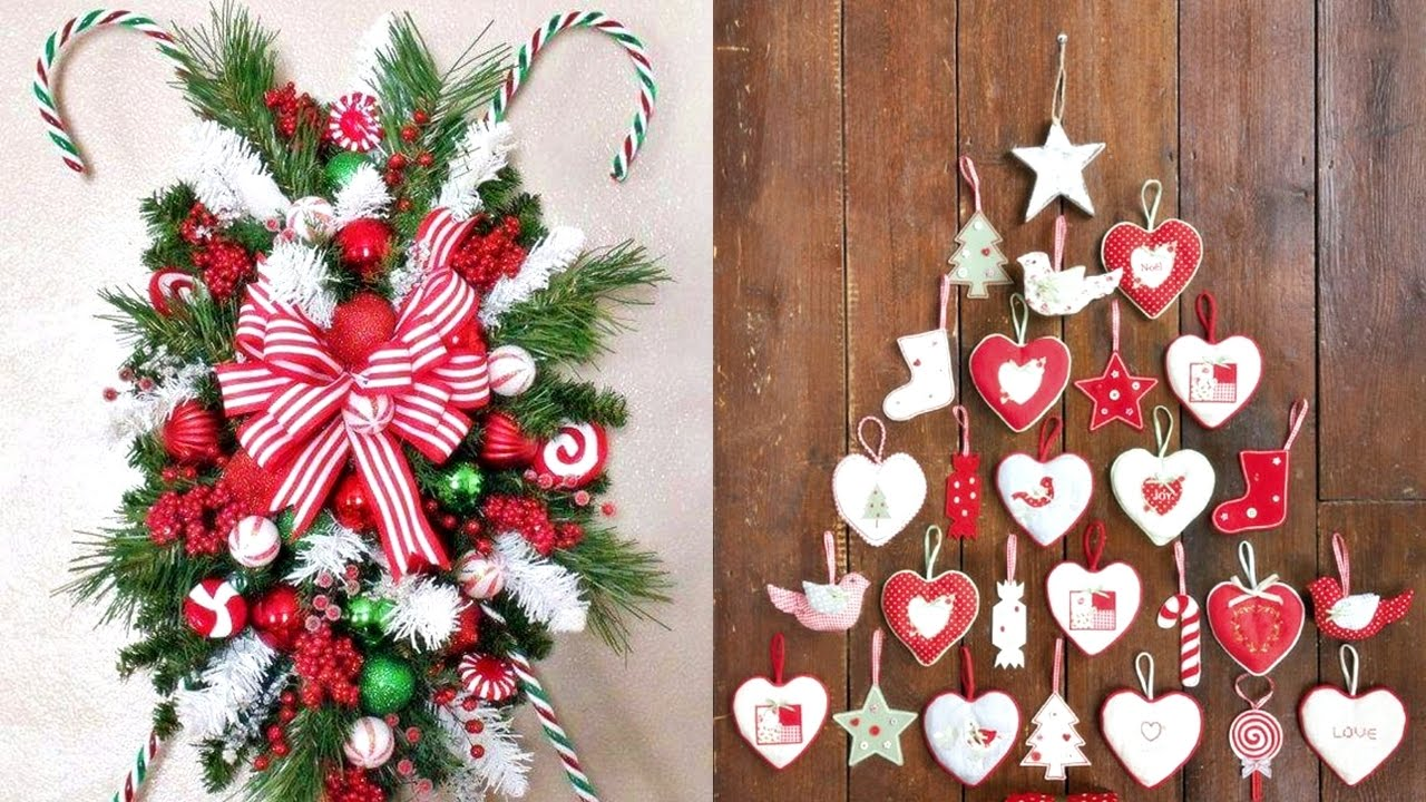 Decoraciones navide as para adornar tu casa 2016 youtube - Decoracion navidad manualidades ...