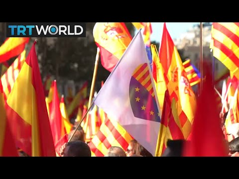 Catalonia Referendum: People rallied in Barcelona