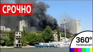 Крупный пожар в Ростове-на-Дону: эвакуировано более 1000 человек