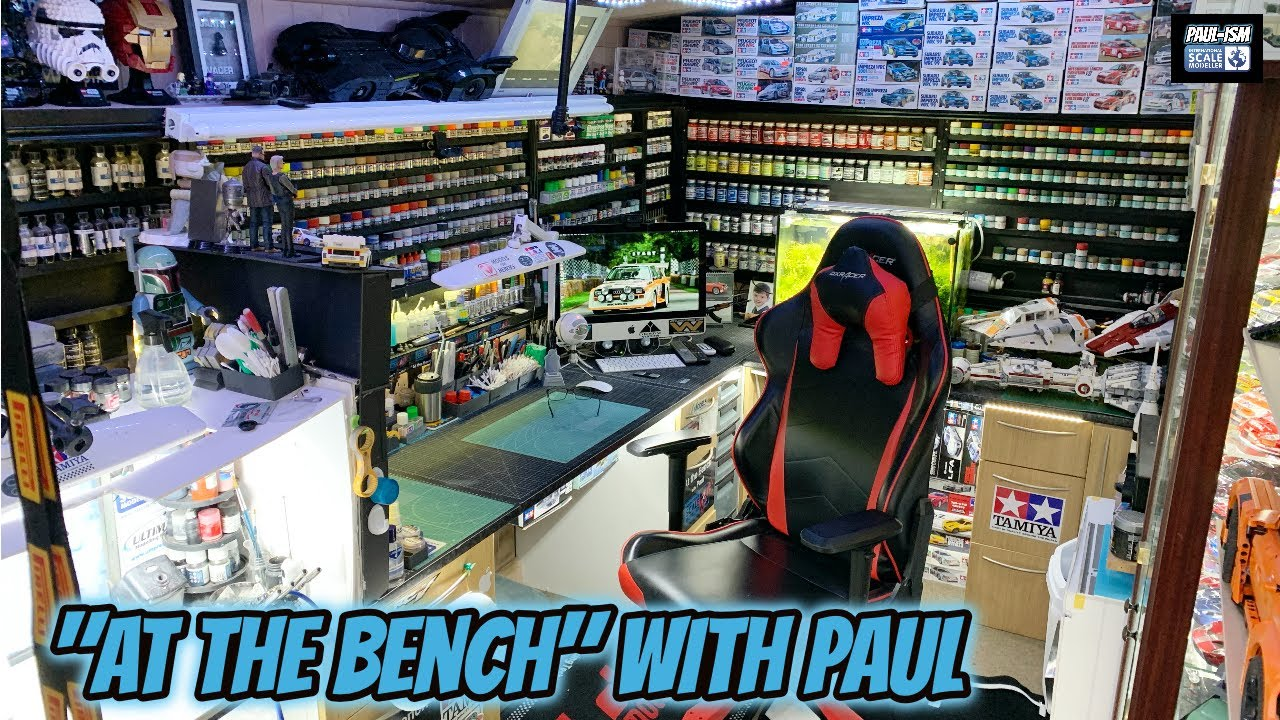 """""""At The Bench"""" With Paul"""" 12/4/21 - Revell 1/25 '69 Shelby GT500"""