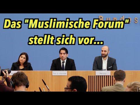 """Das """"Muslimische Forum"""" stellt sich vor - BPK vom 2. Oktober 2015"""