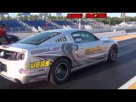 Cobra Jet vs COPO Camaro at No Problem Raceway